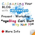 Workshop IDwebhost, Ngeblog Cari Duit. Why Not?