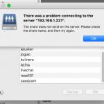 Error Join Samba from mac